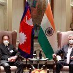 परराष्ट्रमन्त्री– भारतका विदेशमन्त्री भेटवार्ता